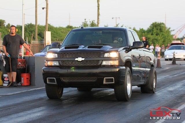 Chevy Silverado Power Wheels >> Silverado SS Knocking on the 10 Second Barrier - Dragzine