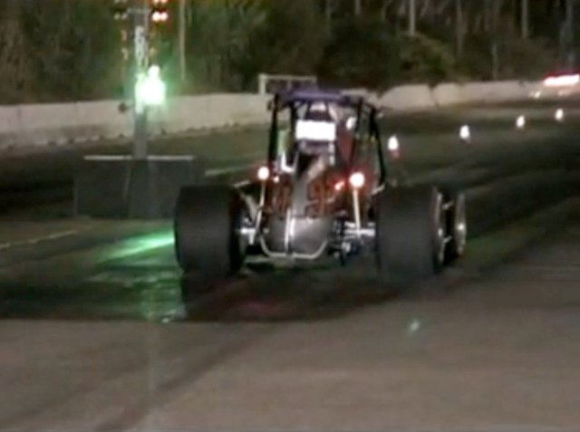Video: So Cal Sprint Car Hits The Quarter-Mile Drag Strip