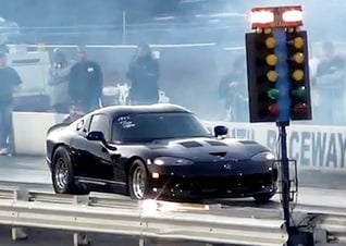 Video: Sal Patal's Viper GTS Resets IRS Record At 7.11 Seconds