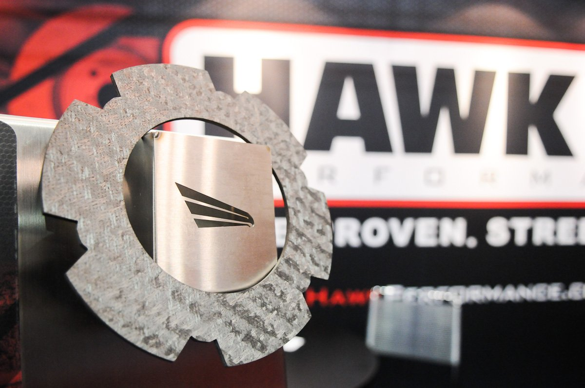 IMIS 2012: Ultra-Light Carbon Brake Pads And Clutch Discs From Hawk
