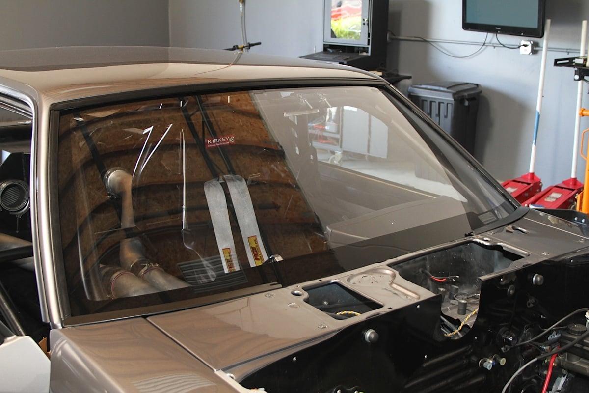 Fox Body Mustang Optic Armor Drop In Blackout Window
