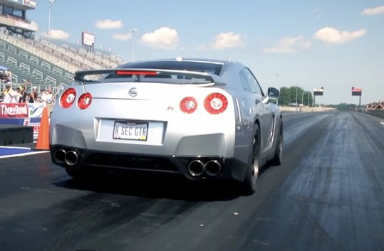 Video: Real Street-Driven Nissan GT-R Runs 8.28 At 173 MPH