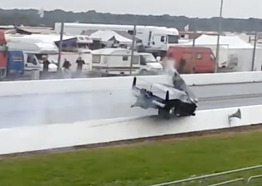 Video: Graham Ellis' Terrifying Pro Mod Crash At Santa Pod