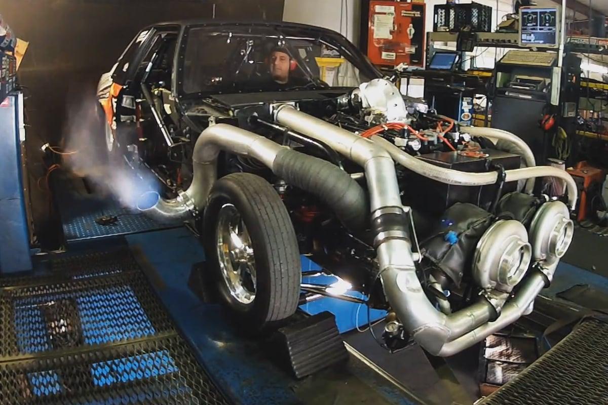 Video: Mike Murillo's 'Lafawnduh' Tops 2,200 HP On Chassis Dyno