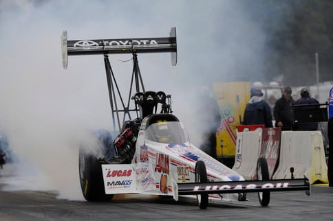 Morgan Lucas Races To Dramatic Top Fuel Victory In Brainerd