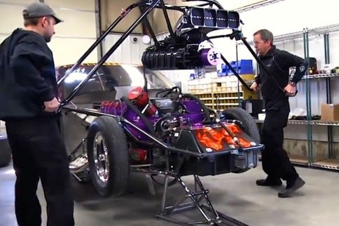 Video: Clever Lift Aid Eases Supercharger Handling in Pit