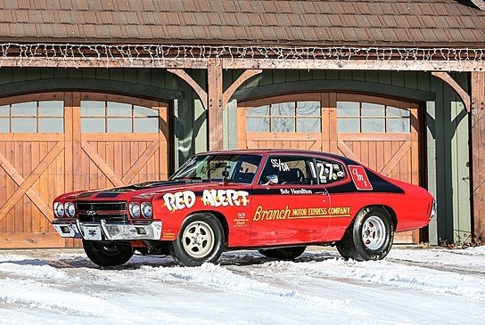 """Red Alert"" Super Stock Chevelle Going to Mecum Auction ..."