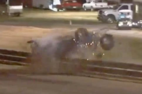 Video: A Pair Of Nasty Rollover Crashes At Richmond IHRA Pro-Am