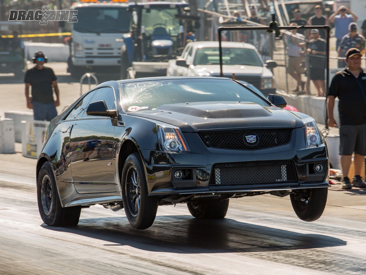 2019 Cadillac Cts V Coupe >> Killer Cadillac: Tim King's Street Driven Nine Second CTS-V