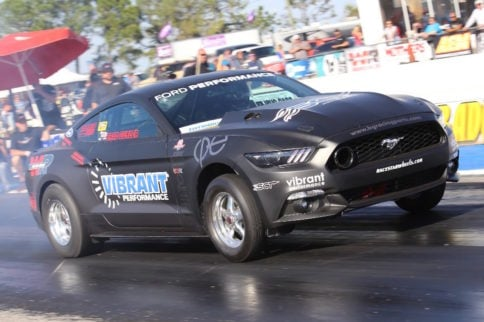 9-Second EcoBoost Mustang Crashes After Wetting The Track