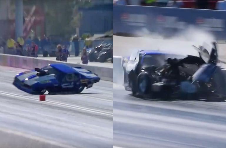 Video: Eric Latino Unhurt In Vicious Las Vegas Pro Mod Crash