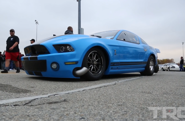 Video: Piloting A 2013 Shelby GT500 Into The 6s!