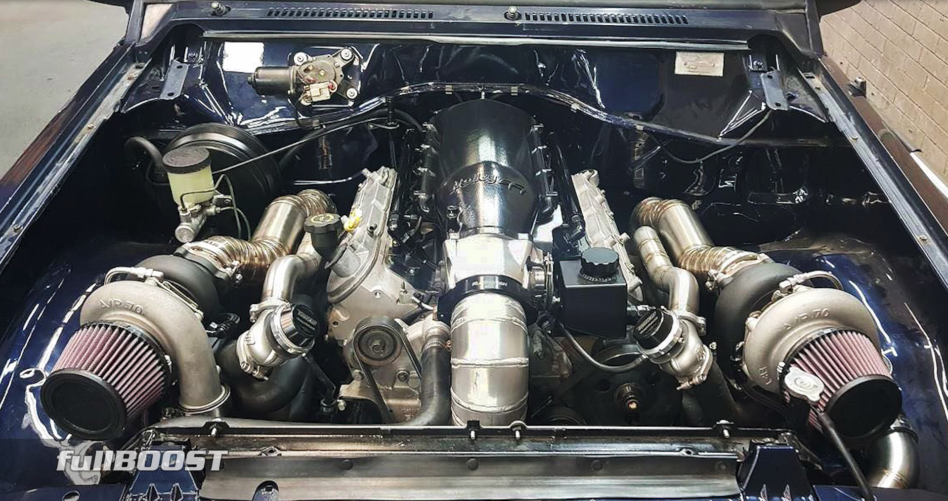 Nissan 350Z Breaks Into the 10's With a Turbo LS2 Conversion