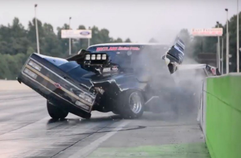 Video: Bobby Dodrill's Misery Continues With Crossville Crash