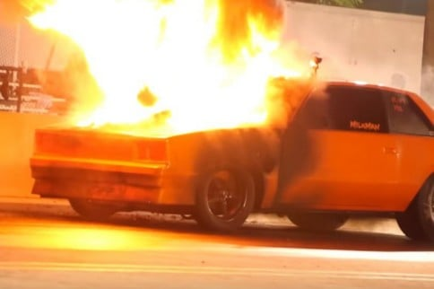 KABOOM! Grudge Car Experiences Massive Explosion And Nitrous Fire