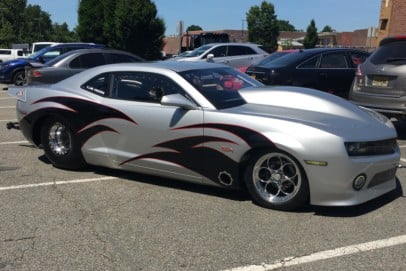 """Mike Castellanos' """"Hot As Hell"""" 8.50 Index Chevy Camaro"""