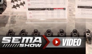 SEMA 2018: COMP Cams BSR Shaft Rocker System for LS Engines