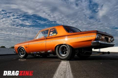 Mr. Belvedere: Nostalgia Super Stock Plymouth Is A Dragstrip Classic