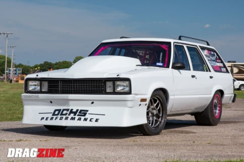 Lead Sled Resurrection: Lea Ochs' Boosted Ford Fairmont Wagon