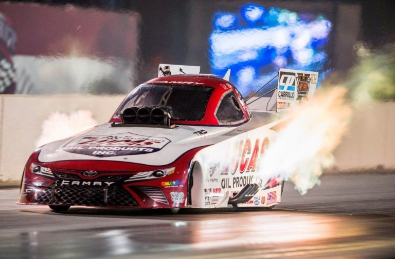 Del Worsham Goes (Nearly) A 1/4-Mile In Qatar Exhibition