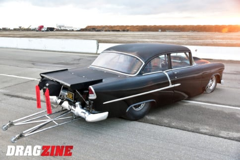 The Jezebel: Scott Gemignani's Supercharged Big-Tire '55 Bel Air