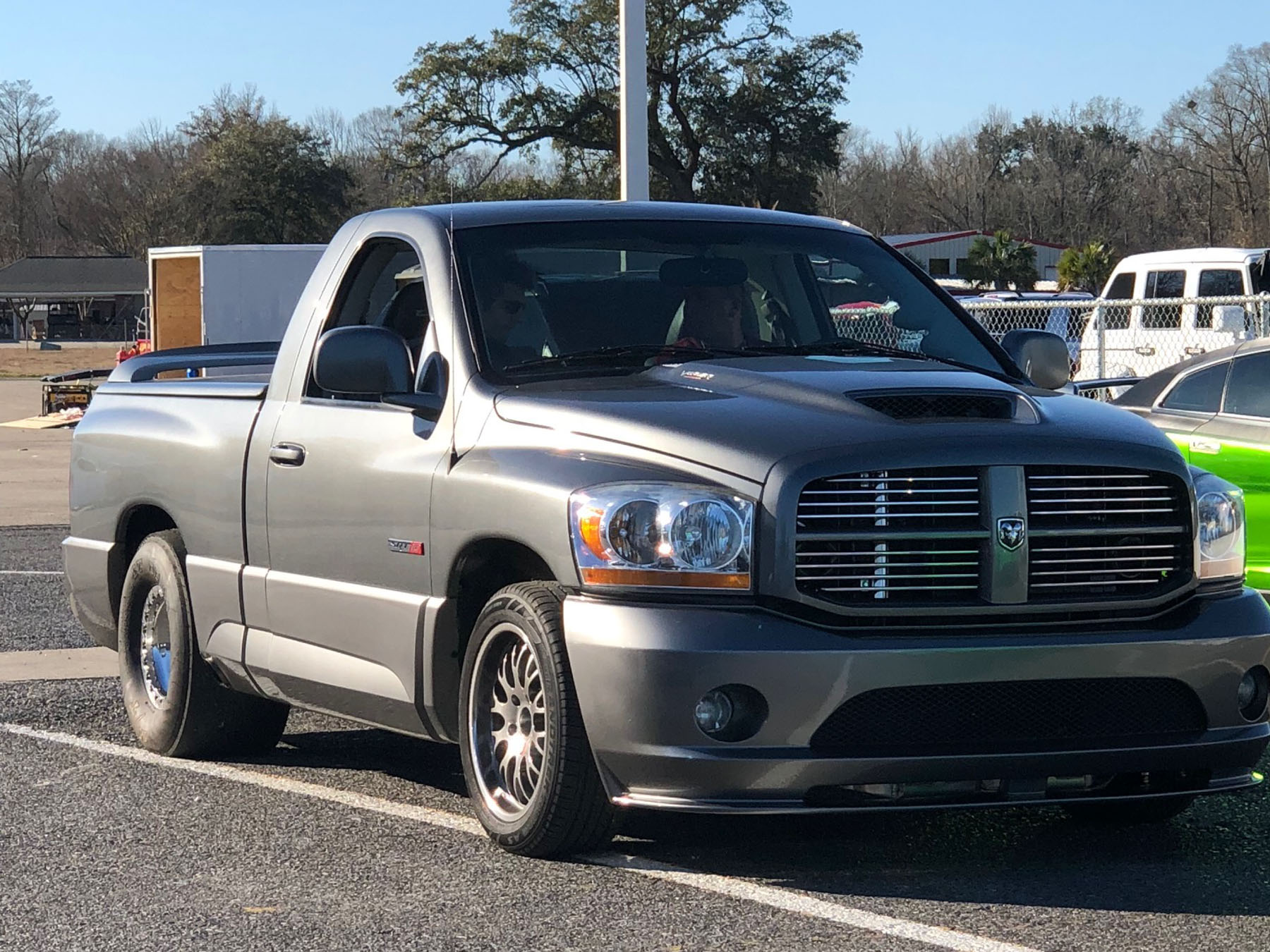 The Rowdy Ram Johnny Young S Twin Turbo Srt 10 Pickup Truck