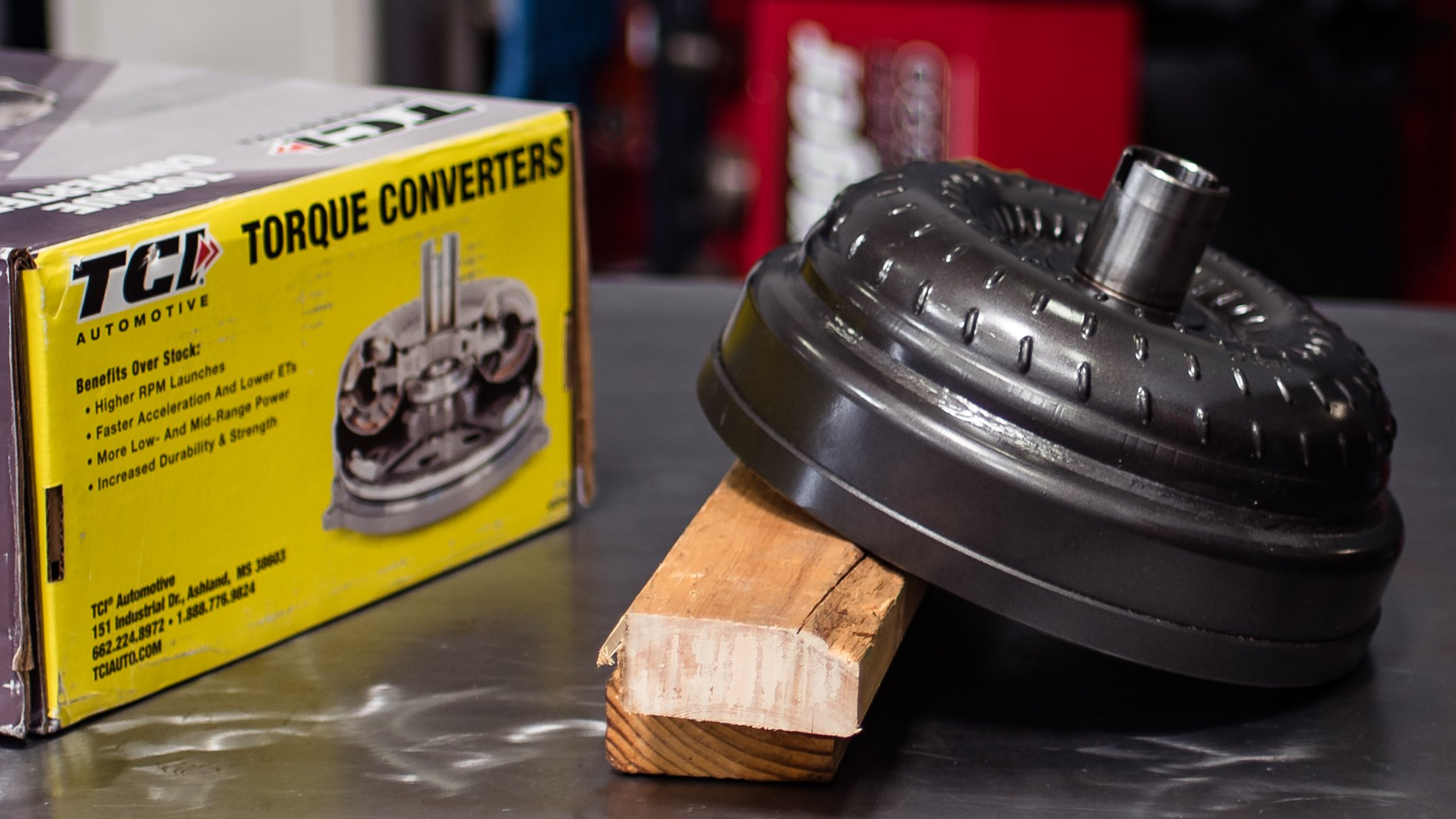 Drag Test: TCI Streetfighter Torque Converter For New