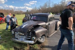 """Ole Heavy"" Involved In Harrowing Two-Car JJ's Arm Drop Crash"