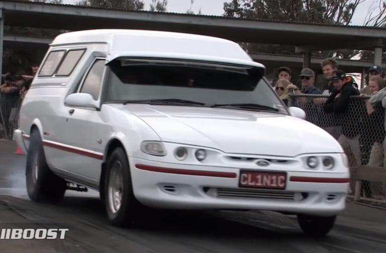Home Built Hauler: Wild Nine-Second Ford Panel Van From Australia