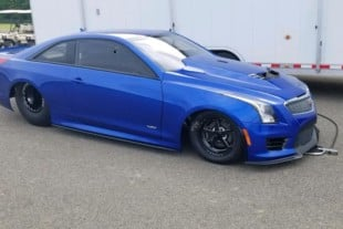 Larry Larson Unveils Stunning New Cadillac ATS-V No-Prep Weapon