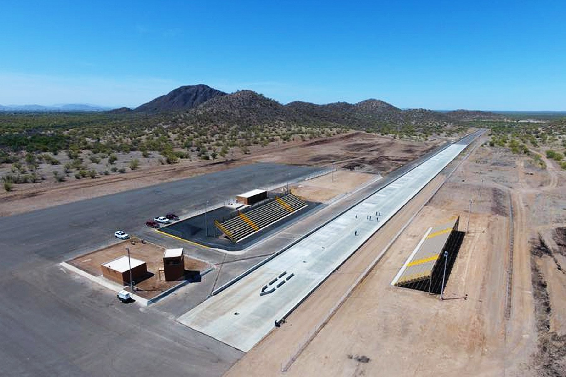 New Dragstrip Enters Final Stages Of Construction In Mexico
