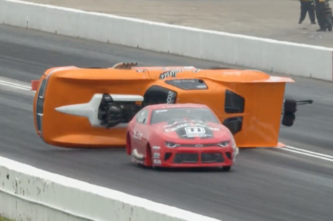 Video: Watch Pro Mod Racer Jeremy Ray's Wild Topeka Crash