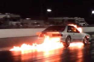 Video: Brutal, Fiery Crash During Carolina N/T Race