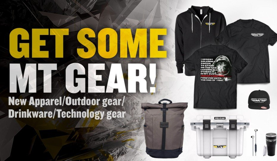 Mickey Thompson Releases M/T Branded Clothing And Accessories