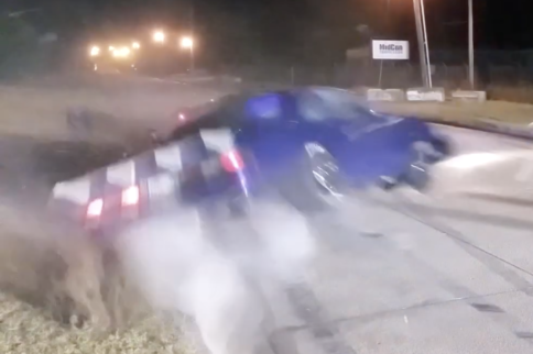 Video: Wild Top End Crash At H-Town Throw Down Street Race