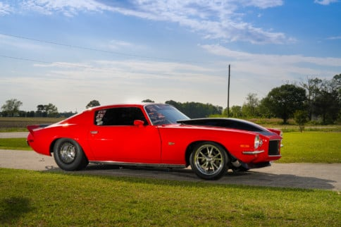 The Scarlett Lady: Forrest Kennedy's Small-Tire '71 Z28 Camaro