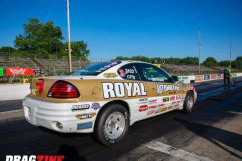 Front Wheel Drive Fun: Bill Owen's NHRA Stock 2000 Pontiac Grand Am