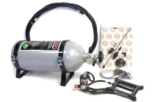 EFI Nitrous: Induction Solutions' Billet DryFI Nitrous Plate System