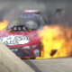 Video: Alexis DeJoria Rides Out Old-School Funny Car Blaze In Dallas
