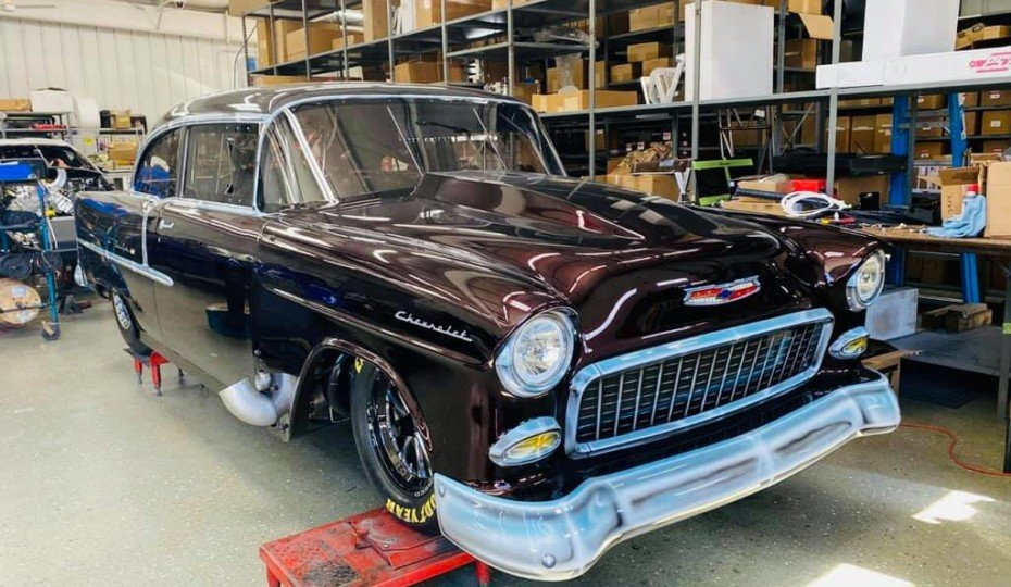 This Bickel-Built Drag Radial '55 Chevy Is A Rolling Work Of Art