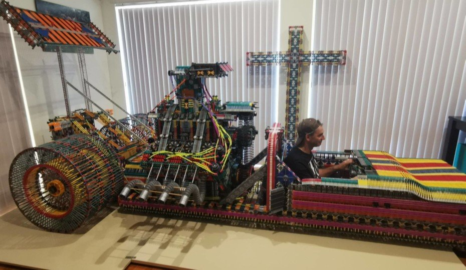 Australia Man Builds Life-Size Hot Rods From 1,000's Of K'NEX Pieces