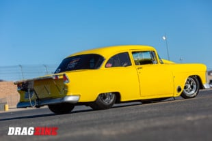 Sweet Street Chevy: Jim Rivera's Twin Turbo 1955 Chevy