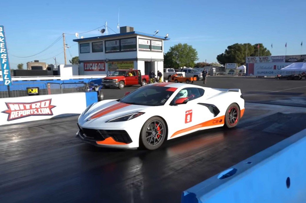 Emelia Hartford's Ups And Downs To Being The Fastest C8