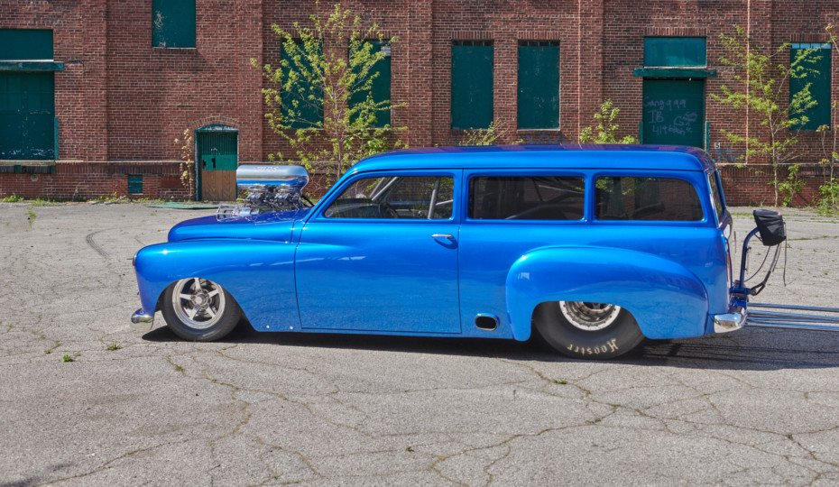 Not A Chevy - 1950 Plymouth Suburban Pro-Mod Wagon By Wentz Hot Rods