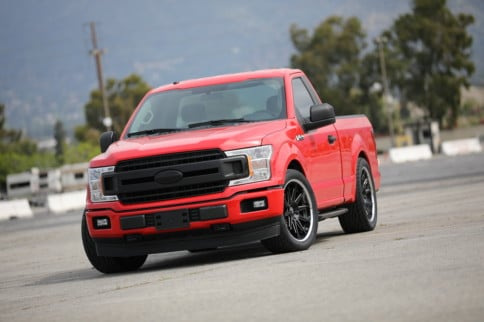 Project Red Storm Pt. 3: Simple F-150 Suspension Tricks To Run 9s