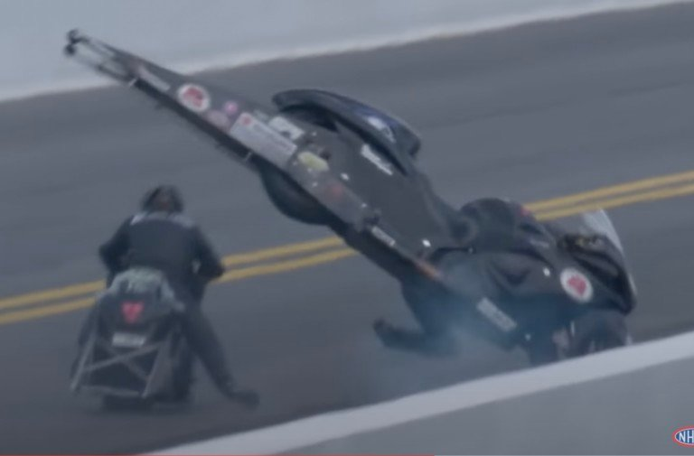 VIDEO: PSM Rider Cory Reed's Dramatic Airborne Crash In Charlotte